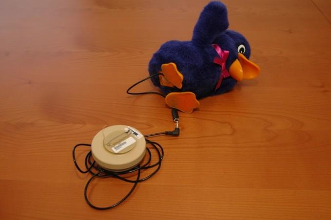 Fotografia de um brinquedo